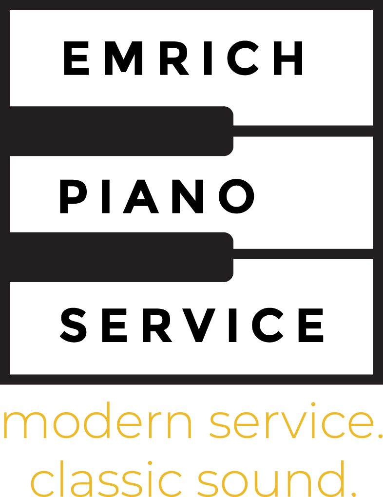 An Image Of Emrich Piano Service Logo