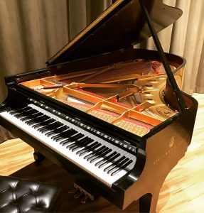 An Image Of Steinway & Sons Grand Piano Put On By Emrich Piano Service